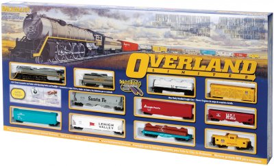 OVERLAND LIMITED (HO SCALE) TRAIN SET