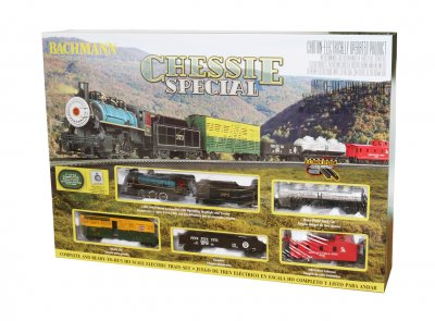 CHESSIE SPECIAL (HO SCALE) TRAIN SET