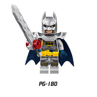 1pc Mini Building Blocks Action Figures Toy Batman Miracle Superheroes Mini Model Toys For Kids