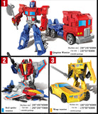 Anime Movie Transforming Toy, 5 Cool Action Figure Robot Cars