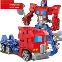 Newest Anime Toys Movie Transforming Toy, 5 Cool Action Figure Robot Car Plastic ABS