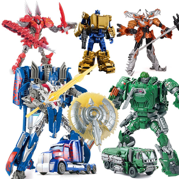 Transformer Robot Car Action toys Deformation Plastic Robot Figure Boy Vehicle Model