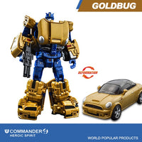 Transformer Robot Car Figures Vehicle Model