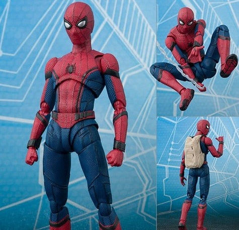 NEW hot 15cm Avengers Spiderman Super hero Spider-Man: Homecoming Action figure .