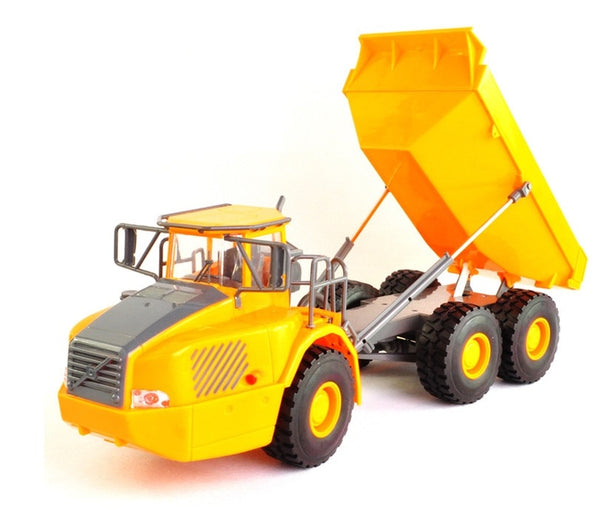 Mini RC Truck Big Dump Truck Engineering Vehicles Loaded Sand Car Toy