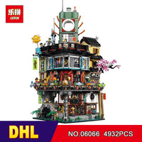 DHL Lepin 06066 4953pcs Ninjago City Masters of Spinjitzu Building Blocks Bricks Toy