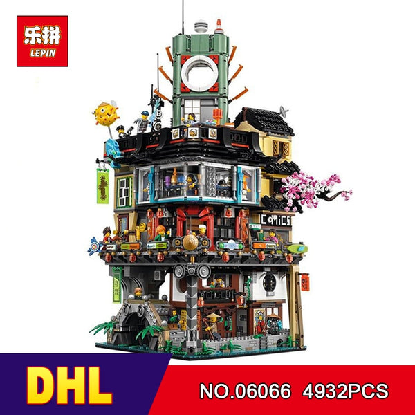 Lepin Ninjago City Masters of Spinjitzu Building Brick Set