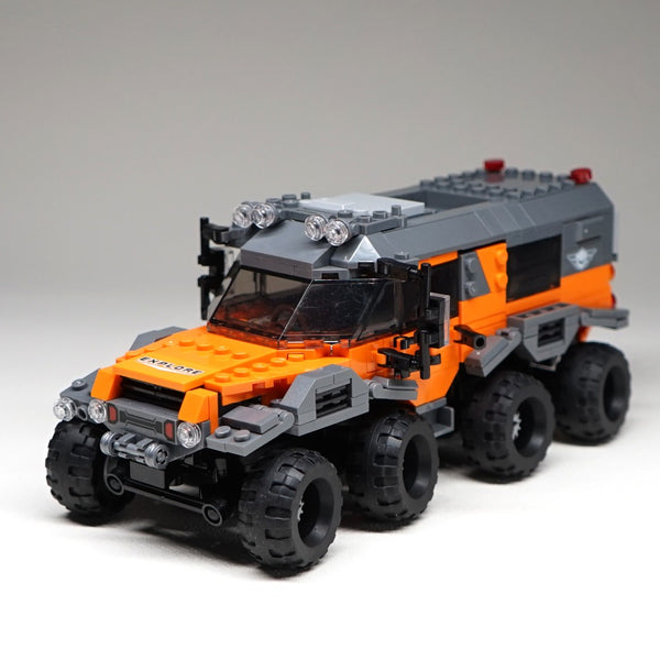 529pcs 8x8 ATV Technic Car Model Building Blocks Bricks Toys 23006 Hatchback 23012 Arakawa Compatible with legoing