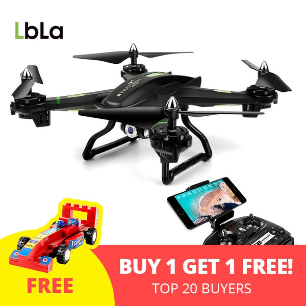 FPV RC Drone with Wifi Camera Live Video Headless Mode Helicopter 2.4GHz 4 CH 6 Axis Gyro RTF Quadcopter, Compatible with 3D VR