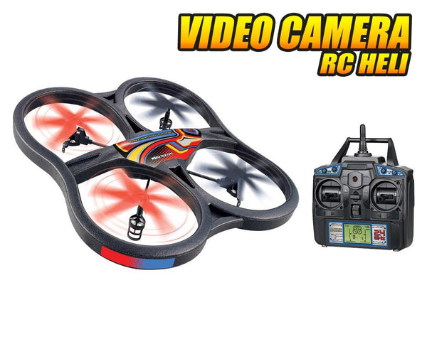 Panther UFO Video Camera RC Spy Drone