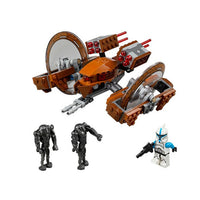 Different variants of Spacerail Legoings Star Wars Space Wars Building Blocks model set Toys Action Figures Toys 2018