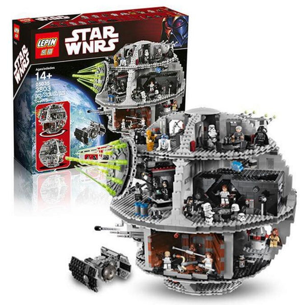 Death Star Set Kits 3804pcs Building Bricks Blocks Toys Gift 10188 05035 Star Battle Compatible With Lego