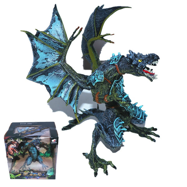 Godzillas Dragon Action Figures Movable Ultraman Monsters Gojira
