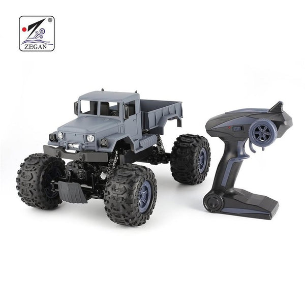 ZEGAN RC Truck ZG-C1231W 4WD 1/12 2.4G Military Off-Road Climber Crawler Car Remote Control Vehicle