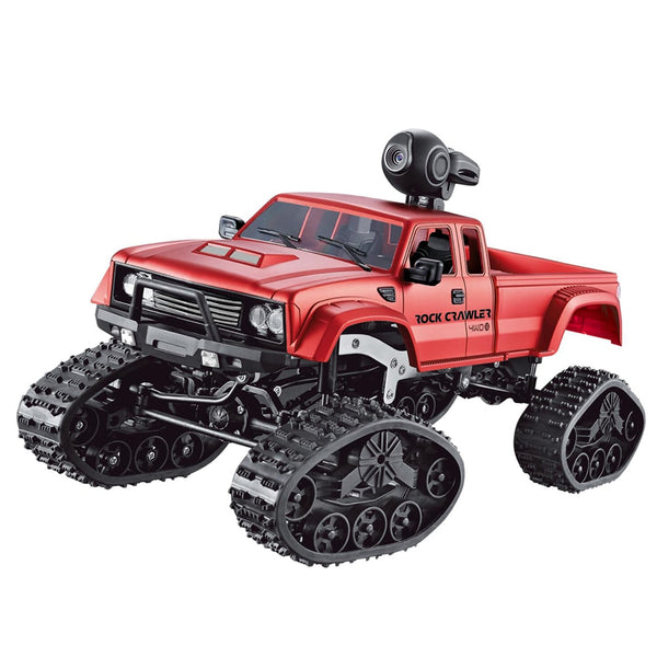 Remote Control Pick Up Truck With Tracks and wifi HD Camera In Red Or Blue In Color