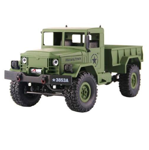 Remote Control US Military 4WD Truck Rock Crawler