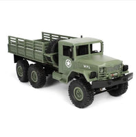 RC Truck Rock Crawler US Military Transporter Off-Road 4WD Tactical 2.4G Remote Control Vehicle Model