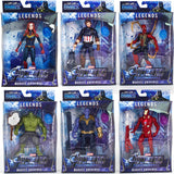 "New Arrival 6"" 15.5cm Marvel The Avengers Endgame 4 Final SuperHero Super Hero PVC action Figures with light #No Box#"
