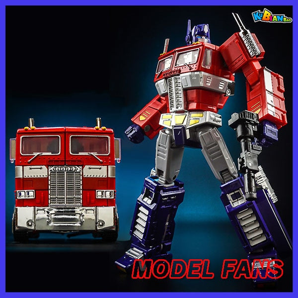 Transformer Optimus Prime Commander MP10V Red, Black or White Alloy Metal With Backpack Action  Figure