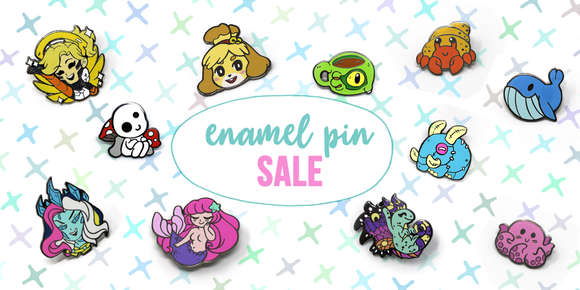 Enamel Pin Sale