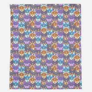 Mini Moonkin Minky Blanket