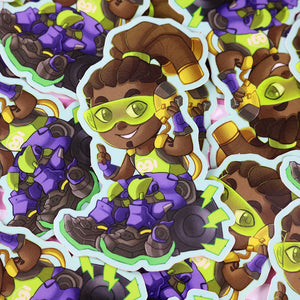 Lucio Overwatch Vinyl Sticker