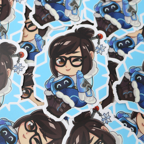 Mei Overwatch Vinyl Sticker