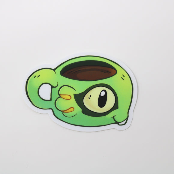 Murloc Mug Sticker