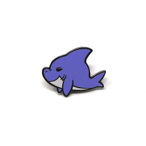 Sea Cuties: Shark enamel pin
