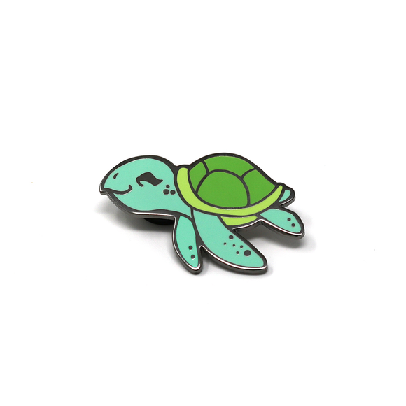 Sea Cuties: Sea Turtle enamel pin