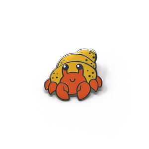 Sea Cuties: Hermit Crab enamel pin