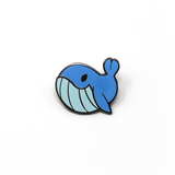 Sea Cuties: Whale enamel pin