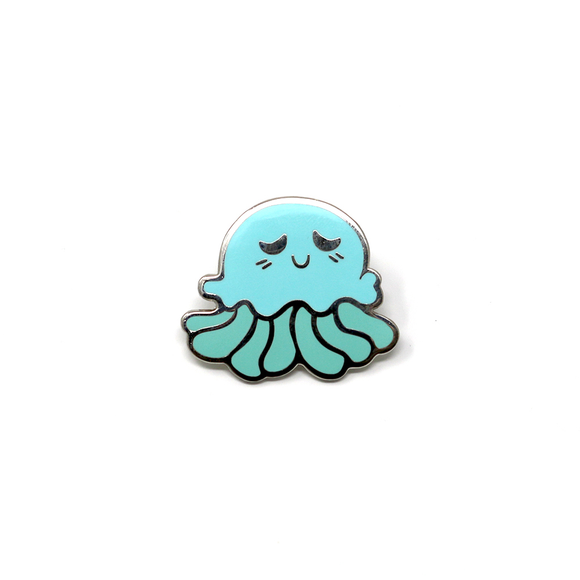 Sea Cuties: Jellyfish enamel pin