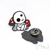 Kodama Forest Spirit hard enamel pin