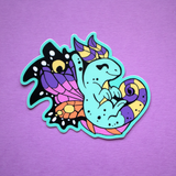 Brightwing Faerie Dragon Vinyl Sticker