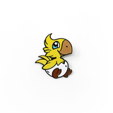 Chocobo Hatchling hard enamel pin