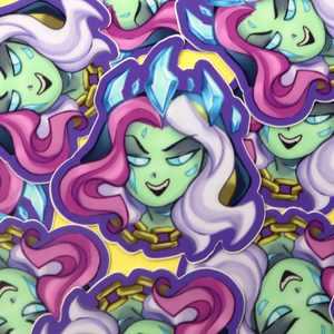 Frost Lich Jaina Sticker