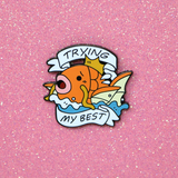 Magikarp Trying My Best pin - Pin Club February 2019