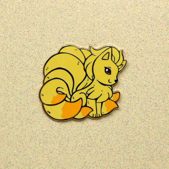 Ninetales Enamel Pin - April 2019