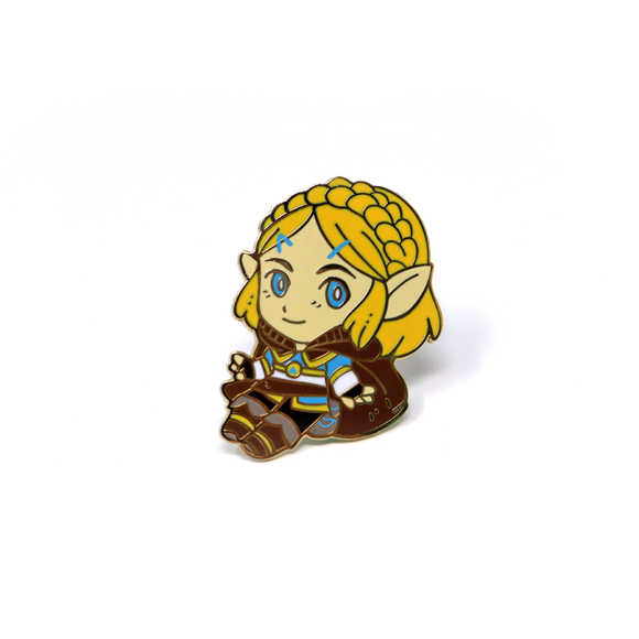 Breath of the Wild chibi Zelda enamel pin - July 2019