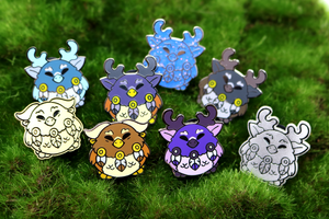 Mystery Moonkin Blind Bag Pins