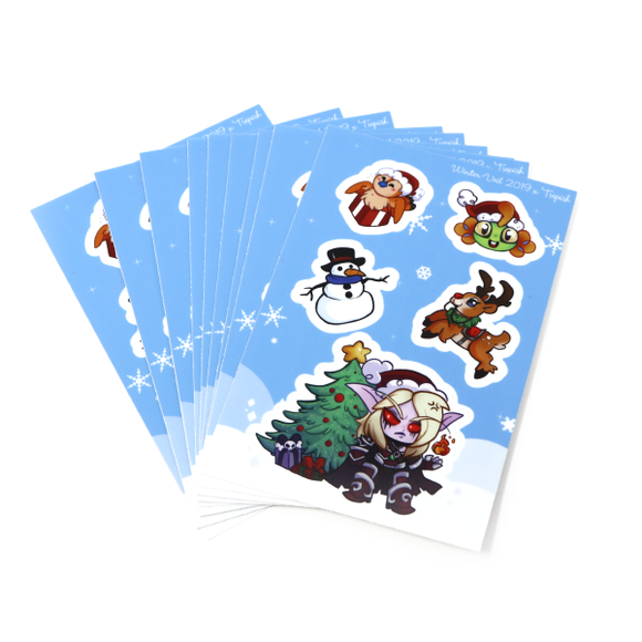 Winter Veil 2019 Sticker Sheet
