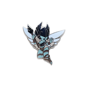 Warcraft Monster Girl Val'kyr Pin - January 2020