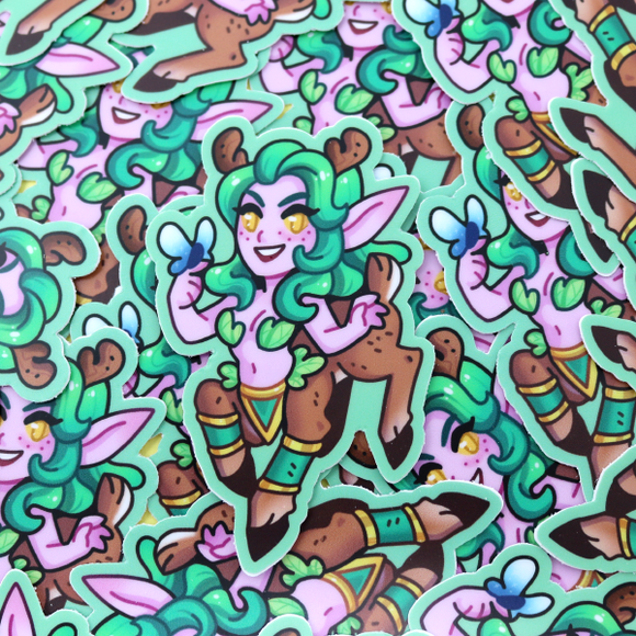 Warcraft Monster Girl Dryad Sticker