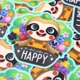 Animal Crossing Happy Leif Sticker