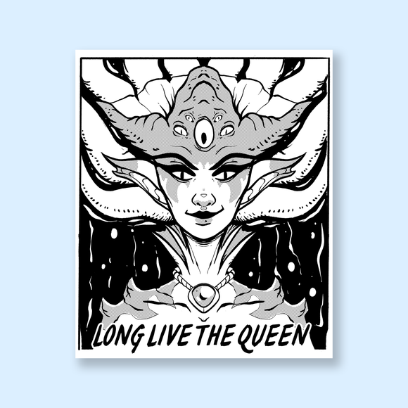 Azshara Long Live the Queen Mini Print