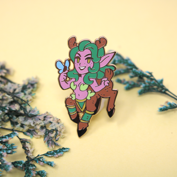 Warcraft Monster Girl Dryad Enamel Pin - March 2020