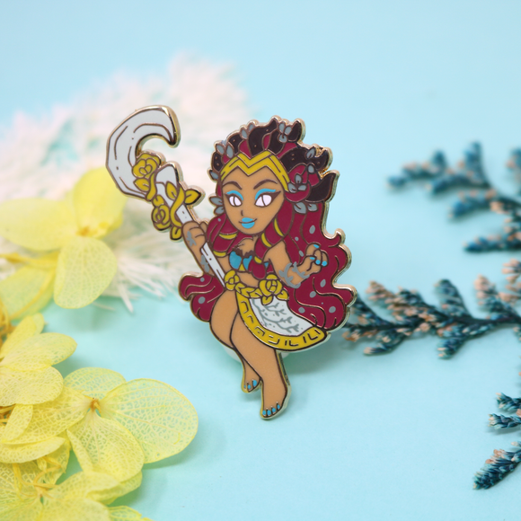 Warcraft Monster Girl: Eonar the Titan Pin - August 2020