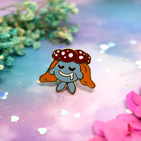 Gloom Pokemon enamel pin
