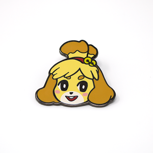 Isabelle Animal Crossing hard enamel pin